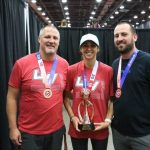Coach Speer medals at Girls Volleyball Nationals