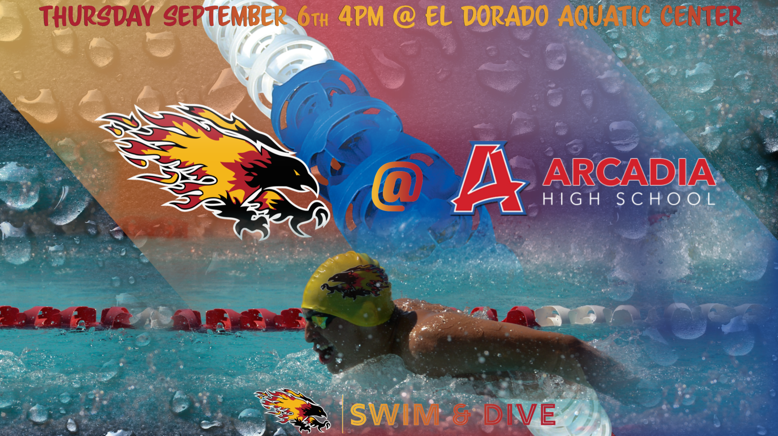 Chap Boy's and Girl's Swim and Dive Take Down Arcadia