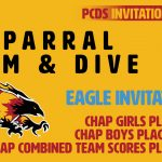 Chap Swim & Dive Impressive at PCDS Eagle Invite
