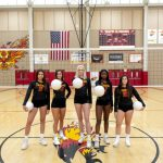 Girls volleyball SENIOR NIGHT Home Game