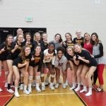 Girls Volleyball Region Champions