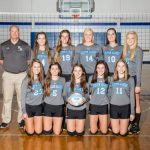 Houston Academy Girls Varsity Volleyball beat Northview High School 3-0