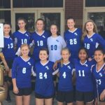 HA Middle School Volleyball at Providence Tournament Defeats Charles Henderson 2-1