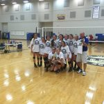 Houston Academy Girls Varsity Volleyball at Enterprise HS Volleyball Tournament Defeats  Alabama Christian  2-0 to Win Tournament
