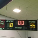 Houston Academy Girls Varsity Basketball beat Kinston High School 35-18