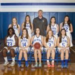 Houston Academy Girls Varsity Basketball beat Wicksburg High School 45-28