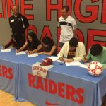 Skyline Boys and Girls Soccer Have 5 Sign NLI