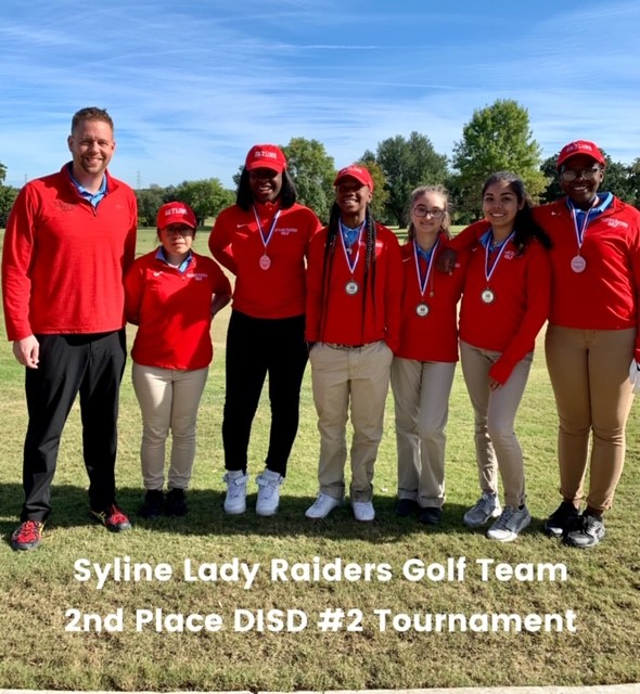 Lady Raiders Golf Finishes 2nd in DISD Tournament