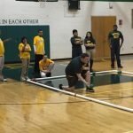 Bocce Gets 1st win!