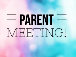 Spring Sports Parent Meeting- Wednesday March 11, 2020