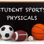 ATHLETIC PHYSICALS TO BE HELD ON MAY 23, 2019