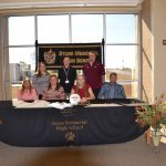 Brittany Brun signed to play volleyball at Hiwassee