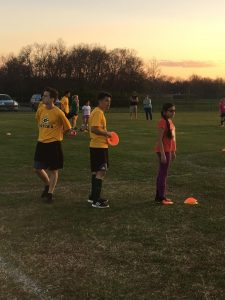 Green Wave Soccer at Clinic for Gallatin Youth (4/5/2017)