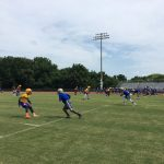 Weather Interrupts Bulldogs Success at Riverdale 7v7