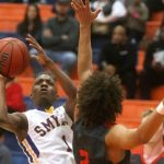 Smyrna Boys Basketball falls to Stewarts Creek 59-31