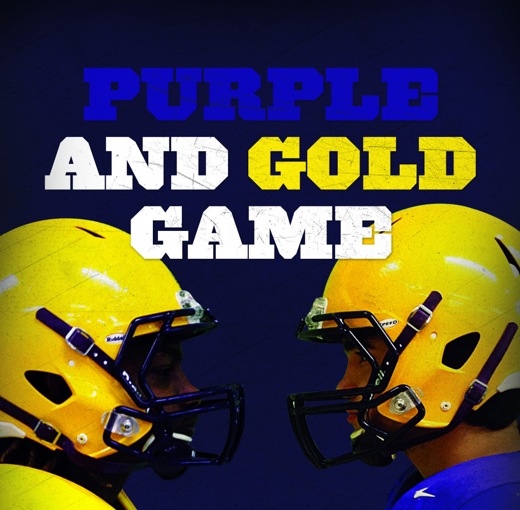 Purple and Gold Game tickets now available online