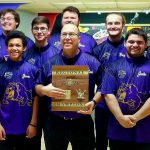 Bowling team claims 3rd straight Region title