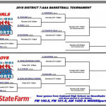 Basketball District Tournament Bracket Released