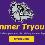 Summer Tryout Dates