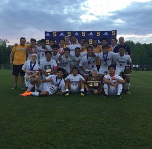 Boys Soccer District Awards