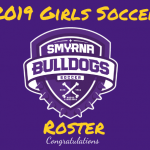 2019 Girls Soccer Tryout Results