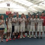 Bluffton High School Boys Varsity Tennis finishes 1st place
