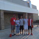 Bluffton High School Boys Varsity Tennis beat South Adams High School 5-0