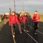 Bluffton High School Girls Varsity Track finishes 3rd place