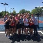 Bluffton High School Girls Varsity Tennis finishes 1st place