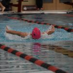 Girls Varsity Swim vs Manchester