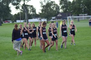Girls Cross Country at Bellmont