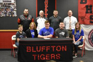 Levi Boots Signing with Saint Francis