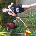 Bluffton's Leslie Sprankles competes in New Haven Cross Country Semi-State Competition