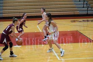 JV Girls Basketball vs. WesDel