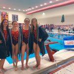 Girls Varsity Swimming beats Bishop Luers Catholic 148 – 19
