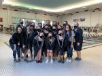 Girls Varsity Swimming finishes 2nd place at Acac Swim/Div Invit