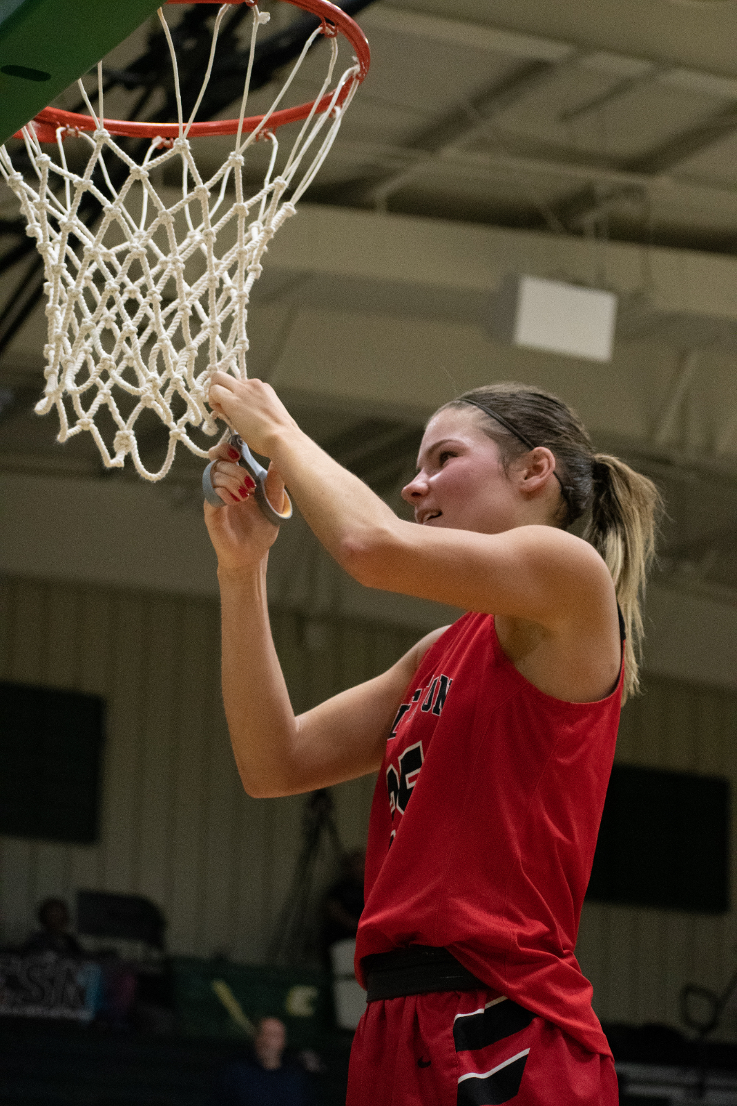 Cutting the Nets! 2A Champs