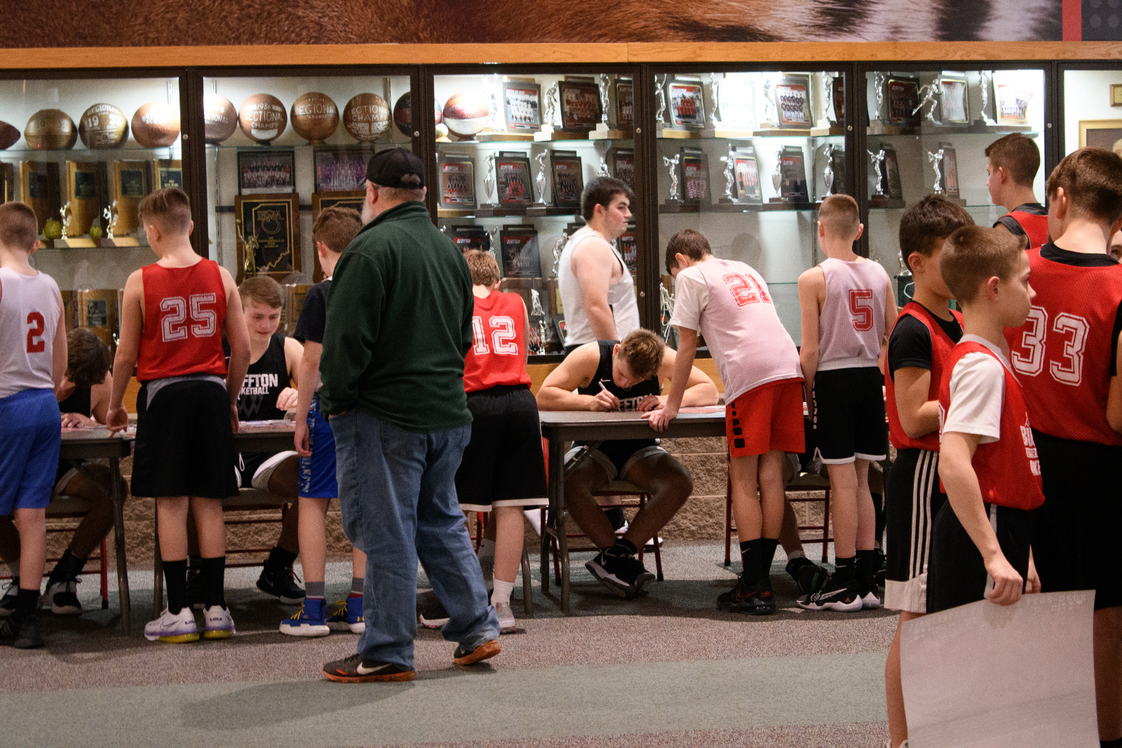 Boys Basketball AAU Night