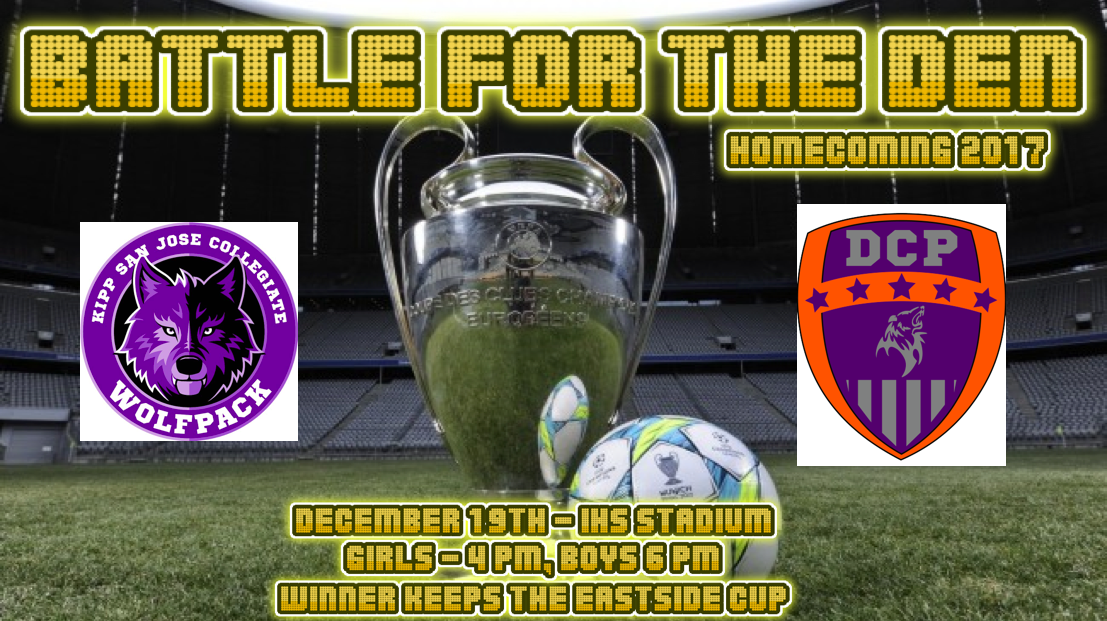1st Annual Battle of the Den – December 19th – Homecoming Game