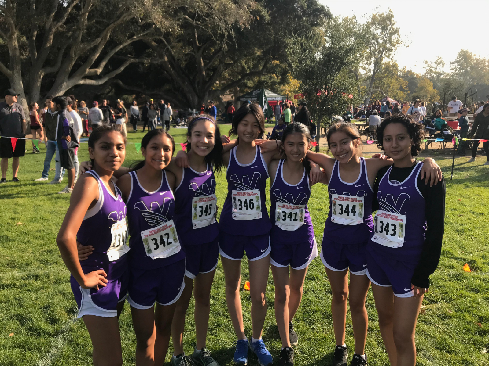 KSJC Girls Cross Country Finishes 7th at CCS Finals