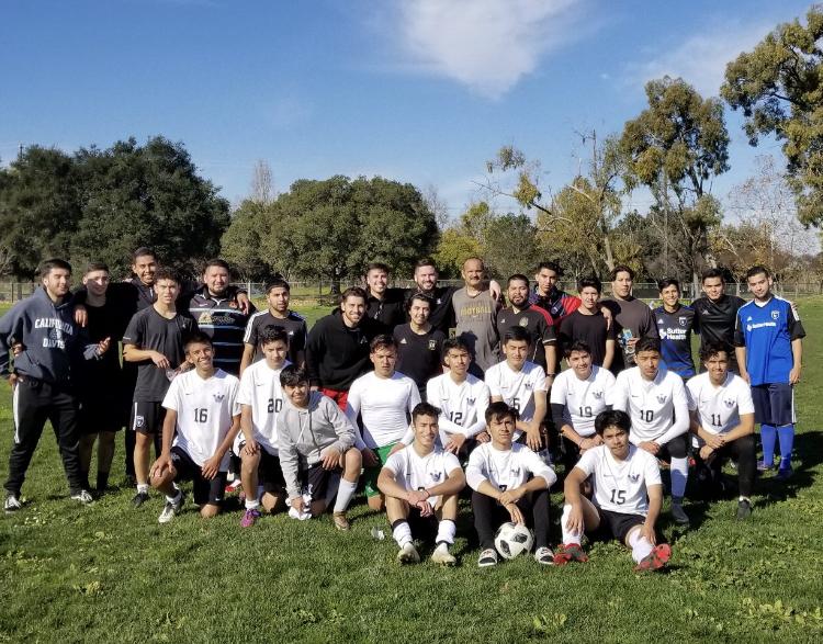 KSJC Hosts their 7th Annual Boys Soccer Alumni Game