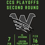 CCS Second Round Information: #12 KSJC at #5 Stevenson
