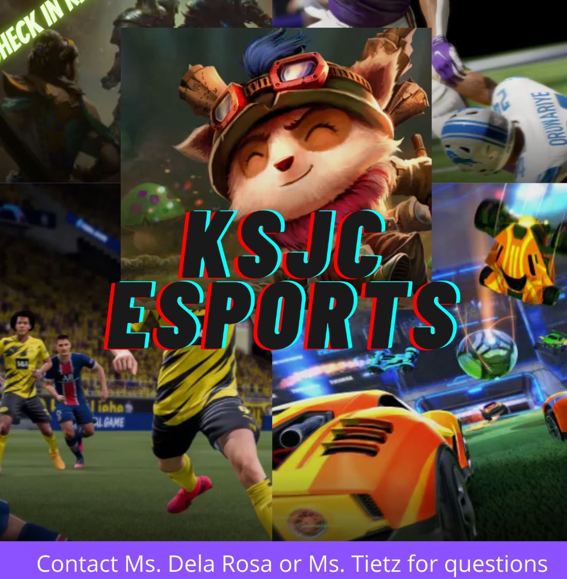 Esports Try Out and Clearance Information