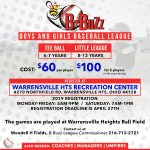 Summer Baseball – Sign up NOW!