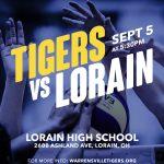Lady Tigers Take on Lorain