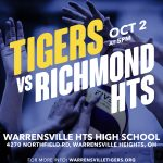 Lady Tigers take on Richmond Heights TODAY!
