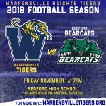 Battle of Northfield! Tigers face the Bearcats in Week 10