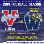 Tiger Football Home Opener TONIGHT!
