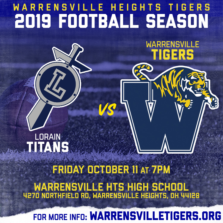 GAME DAY!!! Tigers Host the Titans at 7pm