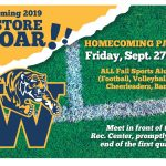 RESTORE THE ROAR!!! Homecoming 2019